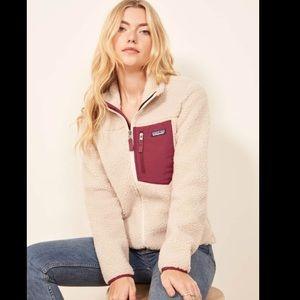 Patagonia retro x classic fleece jacket